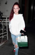 DANIELLE BREGOLI at Madeo Restaurant in West Hollywood 10/22/2017
