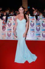 DANIELLE LLOYD at Pride of Britain Awards 2017 in London 10/30/2017