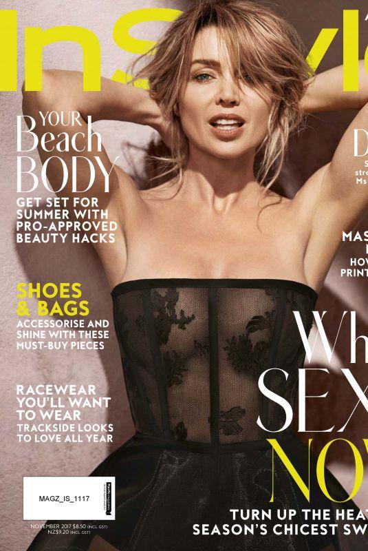 DANNII MINOGUE in Instyle Magazine, Australia November 2017 Issue