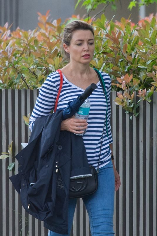 DANNII MINOGUE Out and About in Melbourne 10/19/2017