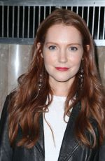 DARBY STANCHFIELD at Turn Me Loose Play in Los Angeles 10/15/2017