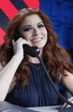 DEBRA MESSING at One Coice: Somos Live! a Concert for Disaster Relief in Los Angeles 10/14/2017