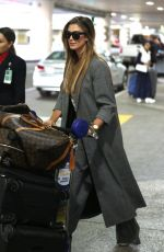 DELTA GOODREM at Los Angeles International Airport 10/23/2017