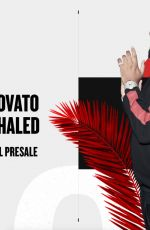 DEMI LOVATO for Demi x Khaled Tour Promos