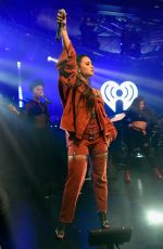 DEMI LOVATO Performs at Iheartradio Album Release Party in New York 10/07/2017