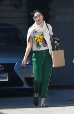 DEMI MOORE Leaves Love Your Body Endermologie in West Hollywood 10/16/2017