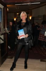 DENISE VAN OUTEN at Annie Press Night at Piccadilly Theatre in London 10/02/2017
