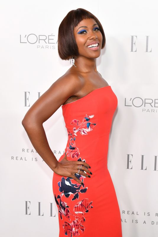 DEWANDA WISE at Elle Women in Hollywood Awards in Los Angeles 10/16/2017