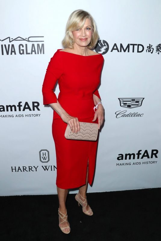 DIANE SAWYER at Amfar Inspiration Gala in Los Angeles 10/13/2017