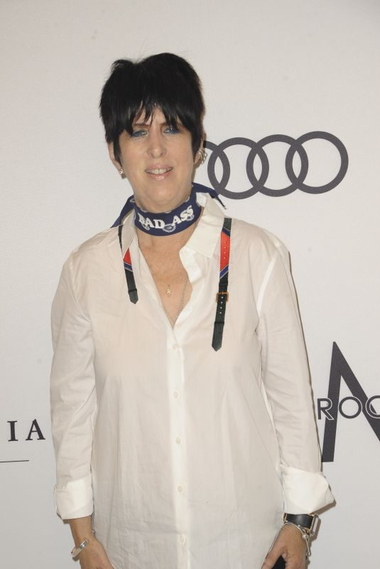 DIANE WARREN at Amfar Inspiration Gala in Los Angeles 10/13/2017