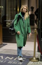 DIANNA AGRON Arrives at Titanic Hotel in Berlin 10/16/2017