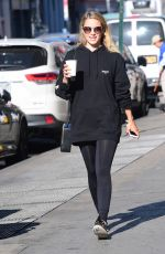 DIANNA AGRON Heading to a Gym in New York 10/22/2017
