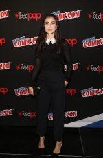 DILAN GWYN at Shadowhunters Panel at New York Comic-con 10/07/2017