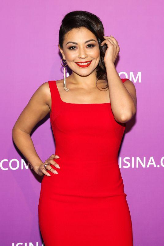 DILNAZ AKHMADIYEVA at Isina Global Gala in Los Angeles 10/10/2017