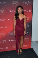 DOMINIQUE ALEXIS at People's Ones to Watch Party in Los Angeles 10/04/2017