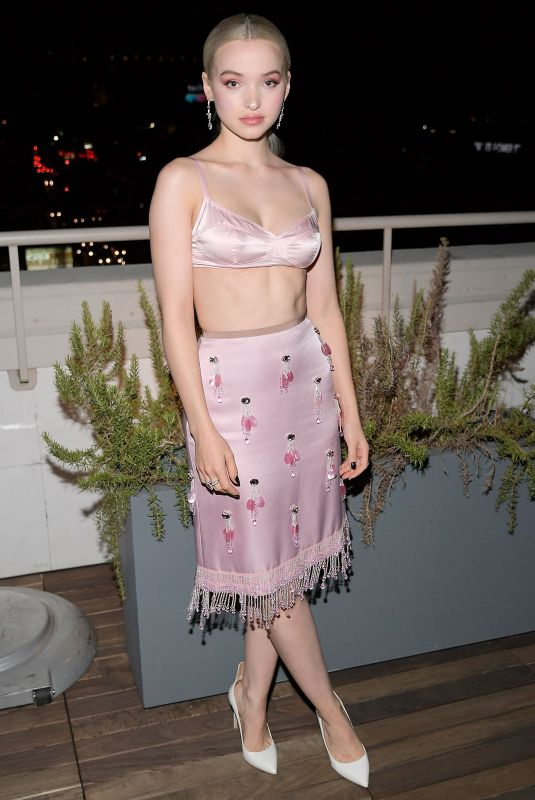 DOVE CAMERON at Instyle & Marc Jacobs Dinner Celebrating Hung Vanngo 10/24/2017