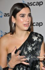 DUA LIPA at Ascap Awards in London 10/16/2017
