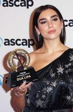 DUA LIPA at Ascap Awards in London 10/16/2017
