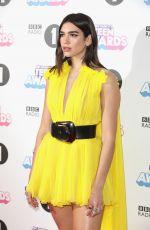 DUA LIPA at BBC Radio 1 Teen Awards 2017 in London 10/22/2017