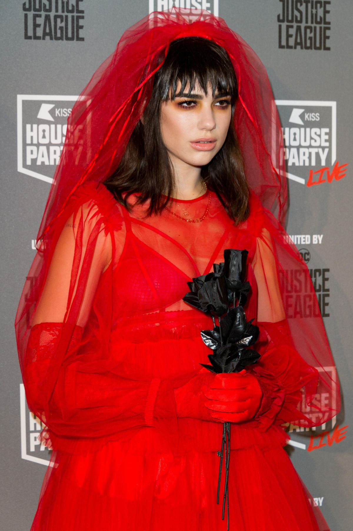 Dua Lipa At Kiss Fm S Haunted House Party In London 10 26