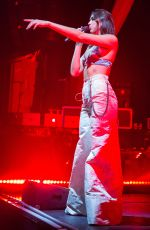 DUA LIPA Performs at Ao2 Newcastle Academy in Newcastle 10/13/2017