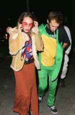 DYLAN PENN at Maroon 5 Annual Halloween Party in Los Angeles 10/28/2017