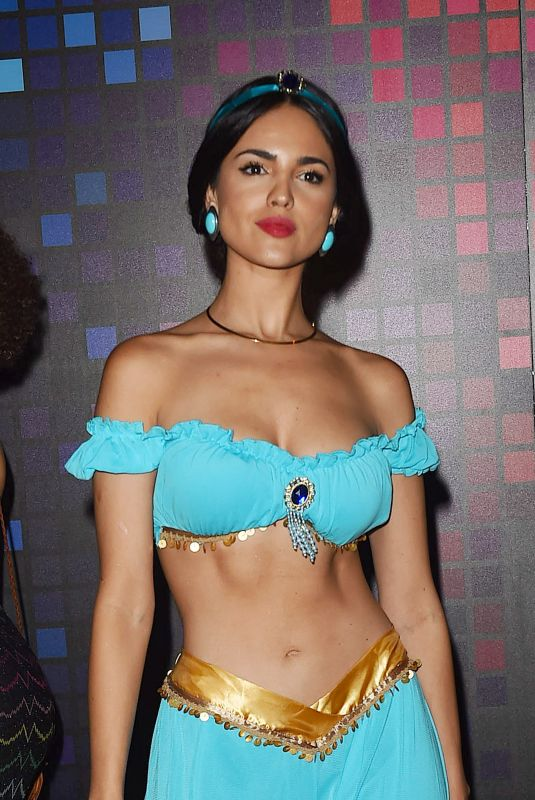 EIZA GONZALEZ at Tequila Casamigos Halloween Bash in Los Angeles 10/27/2017