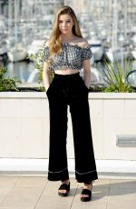 ELEANOR WORTHINGTON COX ar Britannia Photocall at Mipcom in Cannes 10/16/2017