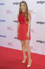 ELEANOR WORTHINGTON COX at Mipcom Opening Cocktail in Cannes 10/16/2017