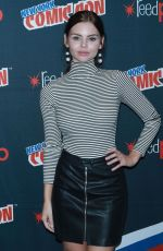 ELINE POWELL at Siren Panel at New York Comic-con 10/07/2017