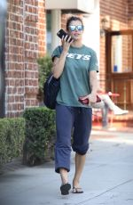 ELISABETTE CANALIS Out and About in Beverly Hills 10/14/2017