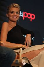 ELIZA COUPE at Future Man Panel at 2017 New York Comic-con 10/06/2017
