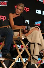 ELIZA COUPE at Future Man Panel at 2017 New York Comic-con 10/06/2017