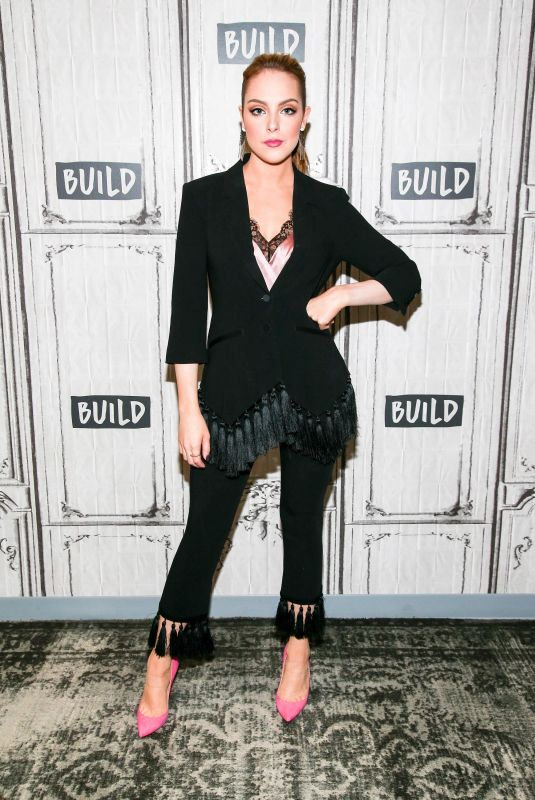 ELIZABETH GILLIES at Build Series to Discuss Dynasty in New York 10/09/2017