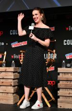 ELIZABETH HENSTRIDGE at Agents of S.H.I.E.L.D. Panel at 2017 Comic-con in New York 10/07/2017