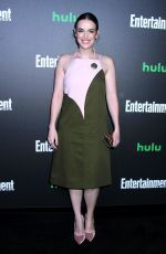ELIZABETH HENSTRIDGE at Hulu's New York Comic-con After-party 10/06/2017