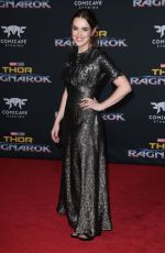 ELIZABETH HENSTRIDGE at Thor: Ragnarok Premiere in Los Angeles 10/10/2017
