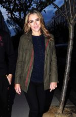 ELIZABETH HURLEY at Rosspomodoro Restaurant in London 10/10/2017