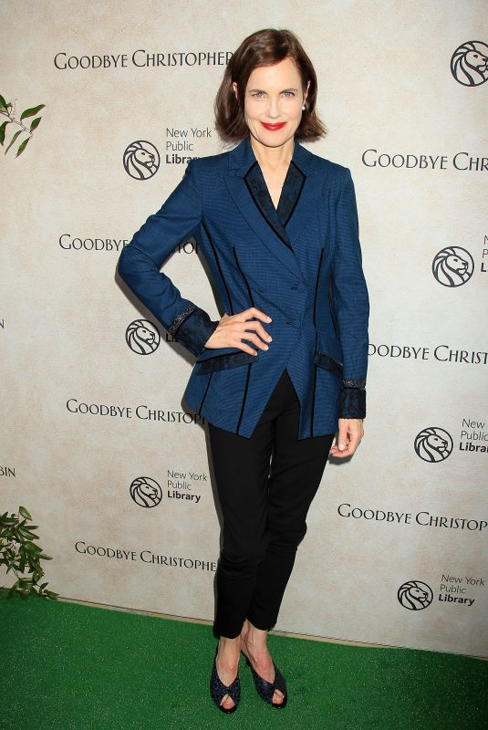 ELIZABETH MCGOVERN at Goodbye Christopher Robin Premiere in New York 10/11/2017