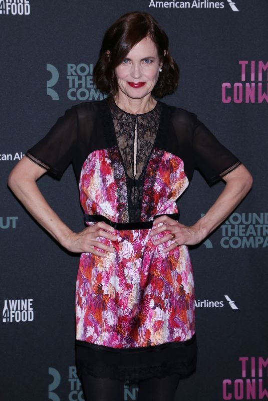 ELIZABETH MCGOVERN at Time and the Conways Opening Night in New York 10/10/2017