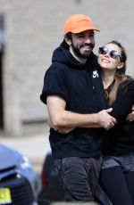ELIZABETH OLSEN and Robbie Arnett Out in Los Angeles 10/03/2017