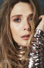 ELIZABETH OLSEN in Glamour Magazine, Mexico October 2017 Issue