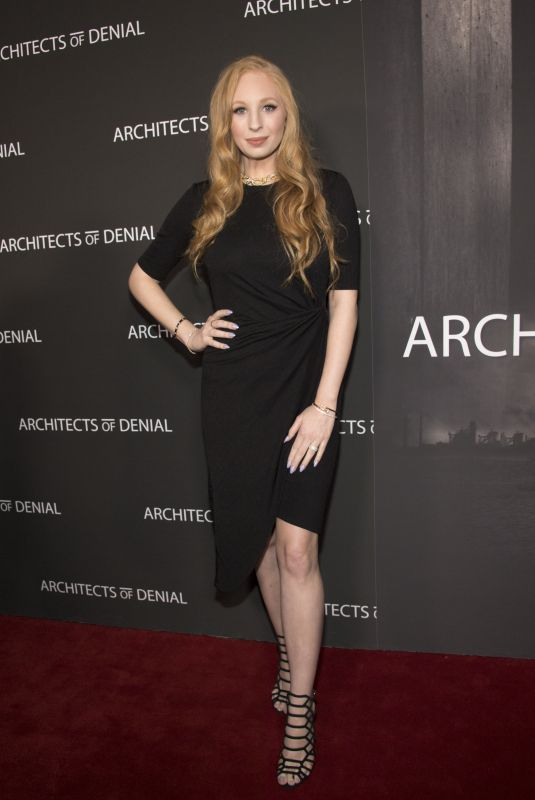 ELIZABETH STANTON at Architects of Denial Premiere in Los Angeles 10/03/2017