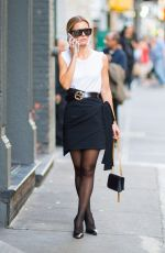 ELIZABETH SULCER Out and About in New York 10/27/2017