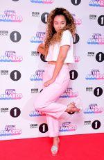 ELLA EYRE at BBC Radio 1 Teen Awards 2017 in London 10/22/2017