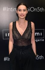 ELLA MILLS at Intimissimi Flagship Boutique Opening in New York 10/18/2017