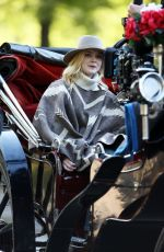 ELLE FANNING on the Set of Untitled Woody Allen Project in New York 10/12/2017
