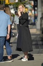 ELLE FANNING Out in New York 10/10/2017