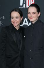 ELLEN PAGE and EMMA PORTNER at L.A. Dance Project's Annual Gala in Los Angeles 10/07/2017