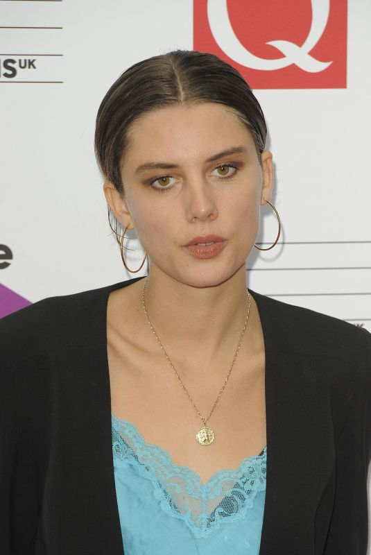 ELLIE ROWSELL at Q Awards in London 10/18/2017